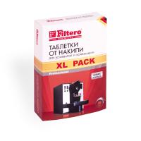 608 Таблетки от накипи Filtero для кофеварок и кофемашин, XL Pack, 10 шт.