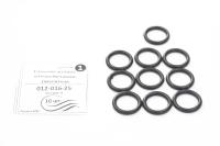 02120812 Сальниковые кольца Aqua Line на излив отечественного смесителя (012-016-25) 10шт (в гриппере)
