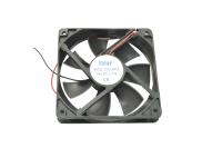 Вентилятор 24V-DC120x120x25 RQD12025MS (подшипник скольжения, среднескоростной)