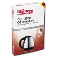 604 Таблетки от накипи Filtero для чайников и термопотов, 6 шт.
