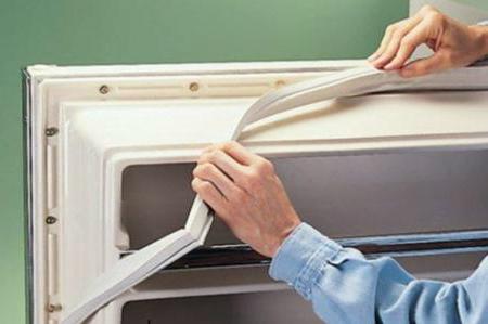 Замена уплотнителей на холодильнике своими руками