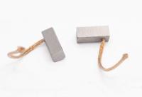 Меднографитовые щетки 8х8х19 поводок 48мм - медь (brush-12)