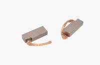 Меднографитовые щетки 6х10х27 поводок 42мм - медь (brush-5)