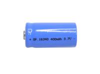 Аккумулятор 16340 Орбита 400mA, 3.7V (LI-ion)