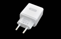 21445 Сетевое зарядное устройство XO L32, 18W, 1USB разъем (быстрая зарядка QC3.0)