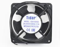 Вентилятор 220V-AC120x120x38 RQA12038HSL (подшипник скольжения, 2400 об/мин. 0.14A)