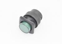 Кнопка R16-504AD-G Off-On 250V 3A D=16mm зеленая (с фиксацией) LED подсветка - 3V