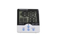 HTC-6 Термометр комнатный с влажностью и часами