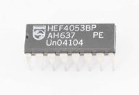 HEF4053BP DIP16 Микросхема
