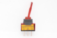 Тумблер On-Off 3-pin 20A 12V однополюсной с красной подсветкой 36-4370