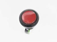 Кнопка GMSI-7B-C no(nc)+nc(no 250V 5A D=24.5mm красная (LED подсветка - 12V)