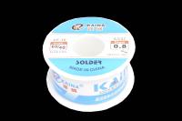 Припой 100 грамм 0.8 мм флюс (60%Sn,40%Pb) CF10 Kaina 60/40