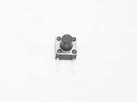 Кнопка 2-pin  6x6x4.3 mm L=3.5mm №9a (вертикальная)