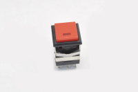 Кнопка KD2-22BRG Off-(On) красная без фиксации (LED-подсветка)
