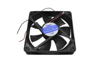 Вентилятор 12V-DC120x120x25 RQD12025MS (подшипник скольжения, 2200 об/мин. 0.28A 3.0W)