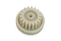 PLR029 Шестерня редуктора мясорубки Polaris (косой зуб), d=34.5мм/47,5мм