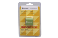 83506 Универсальный USB разветвитель Defender Quadro Iron 4USB, черно-оливковый