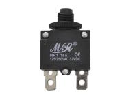 Автомат защиты сети KBF1-01 (MR1-16A-I) 16A 250V (выводы прямые)