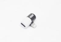 Адаптер iPhone 2 в 1 двойник наушник+зарядка EZRA AD02