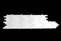 Комплект LED подсветки 50LB/LF (5 линейки) (6V) A-5шт + B-5шт