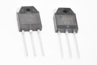 2SB688+2SD718 (пара) (120V 10A 80W pnp+npn) TO3P Транзистор